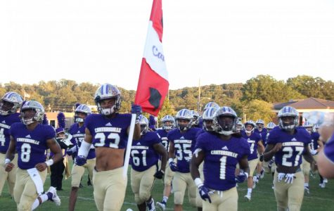 Cartersville Thumps Central at Homecoming Game