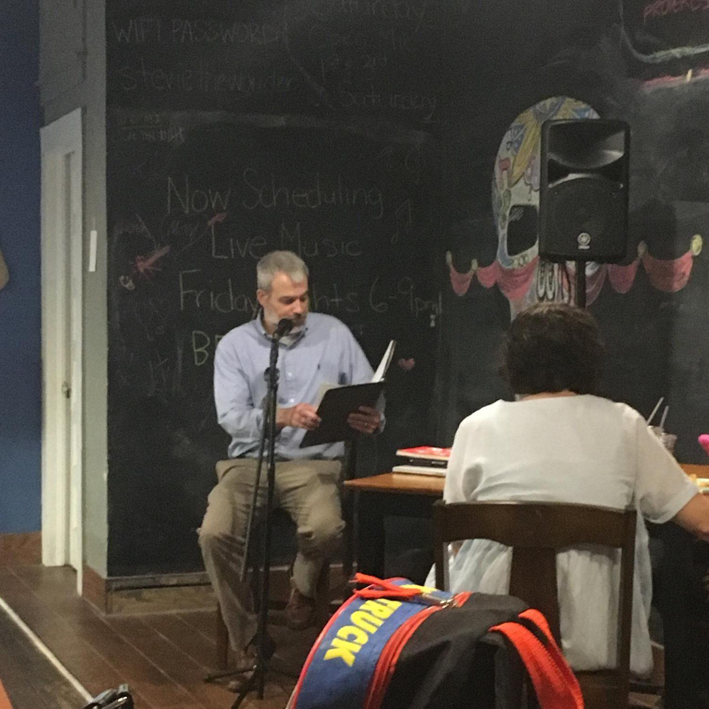 Head of the GHC Creative Writing Club, Professor Kozee